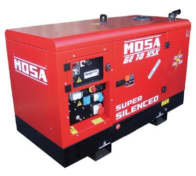 MOSA Industrial Generator GE-10-YSX-EAS-AVR