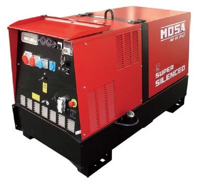 MOSA Industrial Generator GE-15-PSX-EAS-AVR