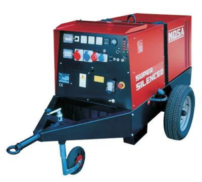 MOSA Industrial Generator GE-15-PSX-EAS
