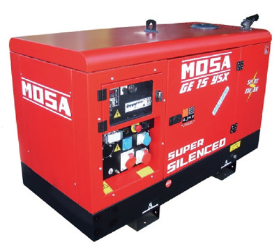 MOSA Industrial Generator GE 15 YSX EAS AVR + COMPOUND