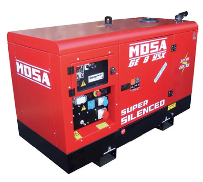 MOSA Industrial Generator GE-8-YSX-EAS