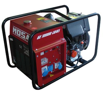 MOSA Industrial Generator GE-10000-LDGS