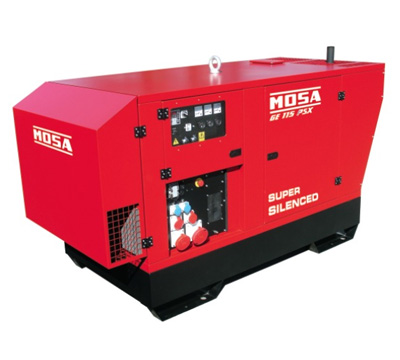 MOSA Industrial Generator GE-115-PSX-EAS