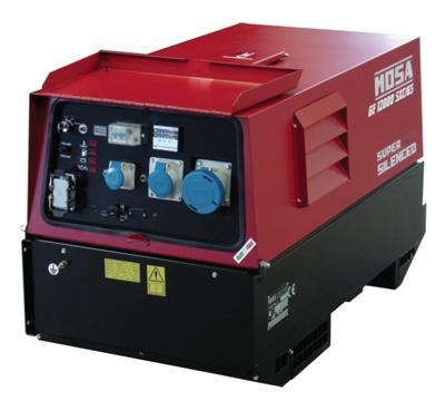 MOSA Industrial Generator GE-12000-SXCGS-EAS