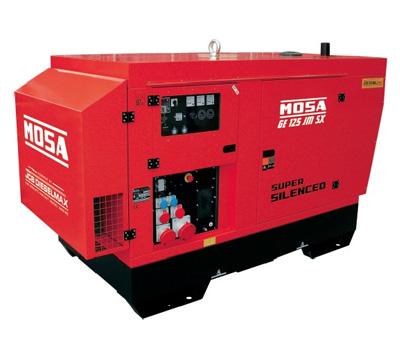 MOSA Industrial Generator GE-125-JSX-EAS