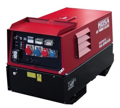 MOSA Industrial Generator GE-14000-SXCGS-EAS