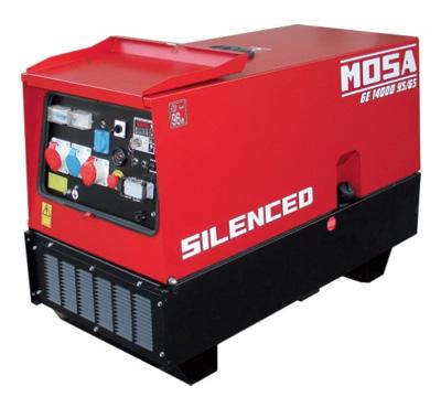 MOSA Industrial Generator GE-14000-YSGS-EAS