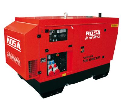 MOSA Industrial Generator GE-145-JSX-EAS