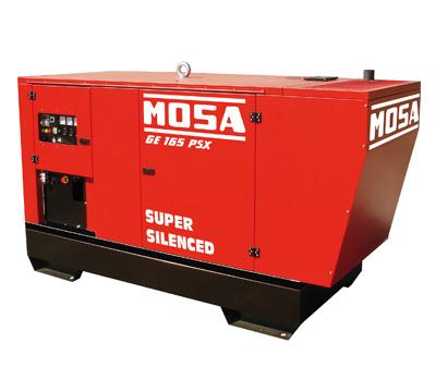 MOSA Industrial Generator GE-165-PS-EAS