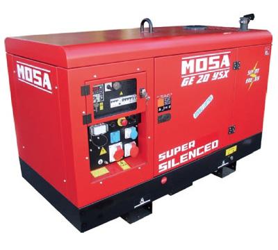MOSA Industrial Generator GE-20-YSX-EAS
