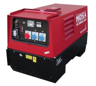 MOSA Industrial Generator GE-20000-LSGS-EAS
