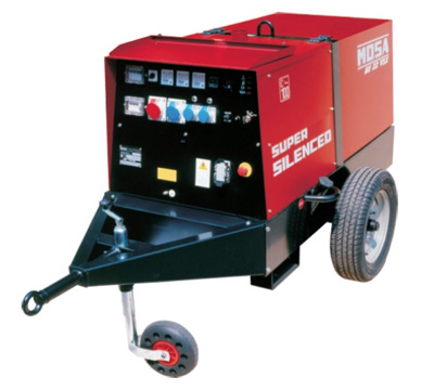MOSA Industrial Generator GE-22-VSX-EAS-(AVR+COMPOUND)