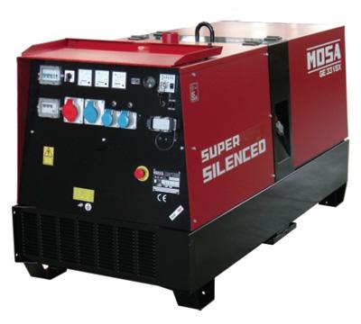 MOSA Industrial Generator GE-33-VSX-EAS-VSX-EAS