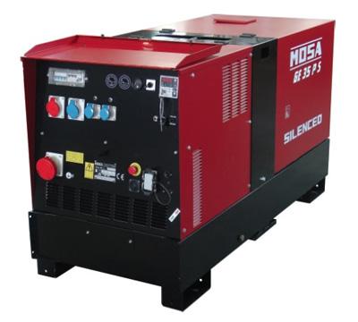 MOSA Industrial Generator GE-35-PSX-EAS