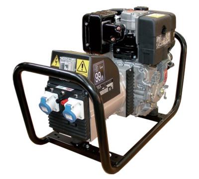 MOSA Industrial Generator GE-4000-LDSGS