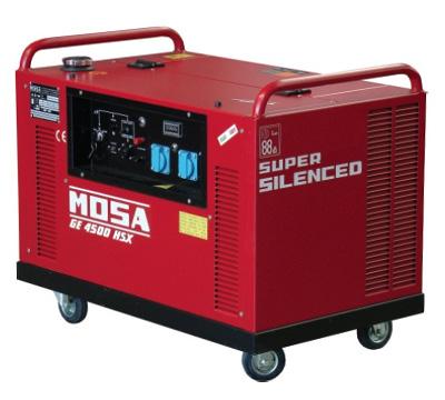 MOSA Industrial Generator GE-4500-HSX-EAS