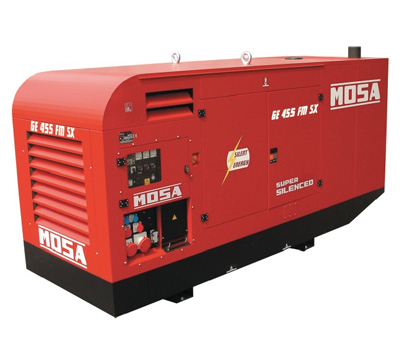 MOSA Industrial Generator GE-455-FSX-EAS