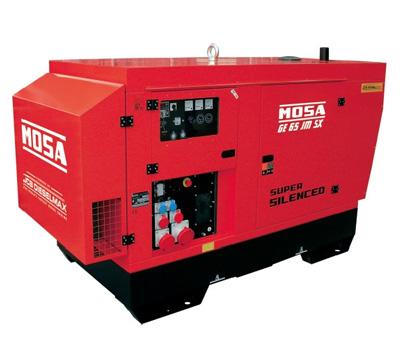 MOSA Industrial Generator GE-65-JSX-EAS