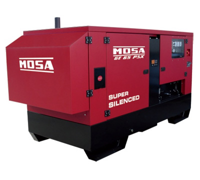 MOSA Industrial Generator GE-65-PSX-EAS-GE-65-PMSX-EAS